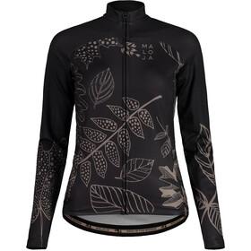 Maloja LaubmoosM. 1/1 Long Sleeve Bike Jersey Women, moonless
